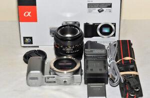 Sony Alpha NEX-5 Digital Camera and 50mm MF lense