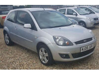 Ford Fiesta 1.4TDCi Zetec Hatch 3d. GUARANTEED FINANCE payment between £17-£34PW