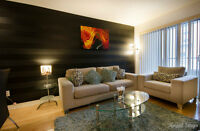 FULLY FURNISHED 1 BR CONDO STEPS FROM ROGERS CENTRE TORONTO!!