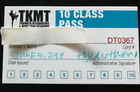 10 Class Kickboxing Pass for Sale