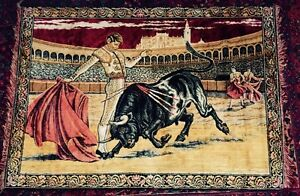 Classic Bullfight Wall Tapestry Mint Condition Kitchener / Waterloo Kitchener Area image 1