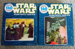Vintage 1977 Series Star Wars Jigsaw Puzzles - UNOPENED
