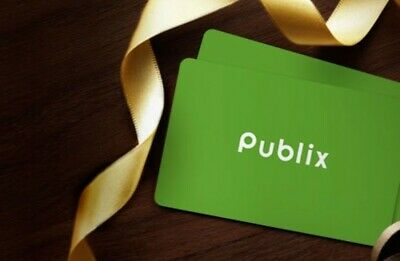 Publix gift card $100 value New authentic fast shipping.