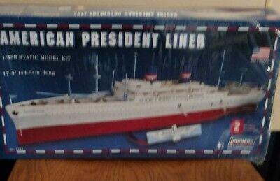 Lindberg American President Liner SS president Wilson  model kit 1/350 New other