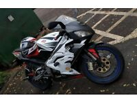 Aprilia RS 125 2 Stroke 125cc, 2007, 11 680 miles, CBT Learner Legal