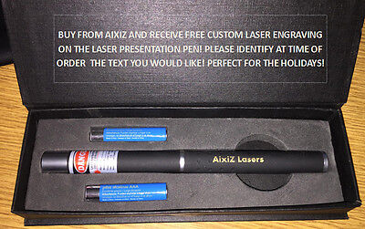 5mw 650nm Red Laser Pointer Pen with free custom engraving