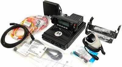Motorola Xtl2500 Vhf P25 Digital Mobile Radio 110w Remote Mount Adp M21ktm9pw1an