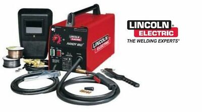 Lincoln Electric K2185-1 Handy Mig Welder 115v Mig Or Flux Core Welding Machine