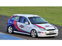 FORD FOCUS ROAD LEGAL TRACK CAR