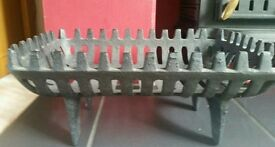 Small Cast Iron Log holder For Sale