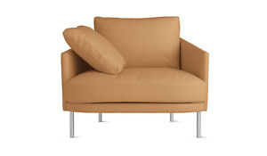 Camber-Armchair-in-Camel-Elmotique-Leather-Stainless-Legs-DWR-Modern