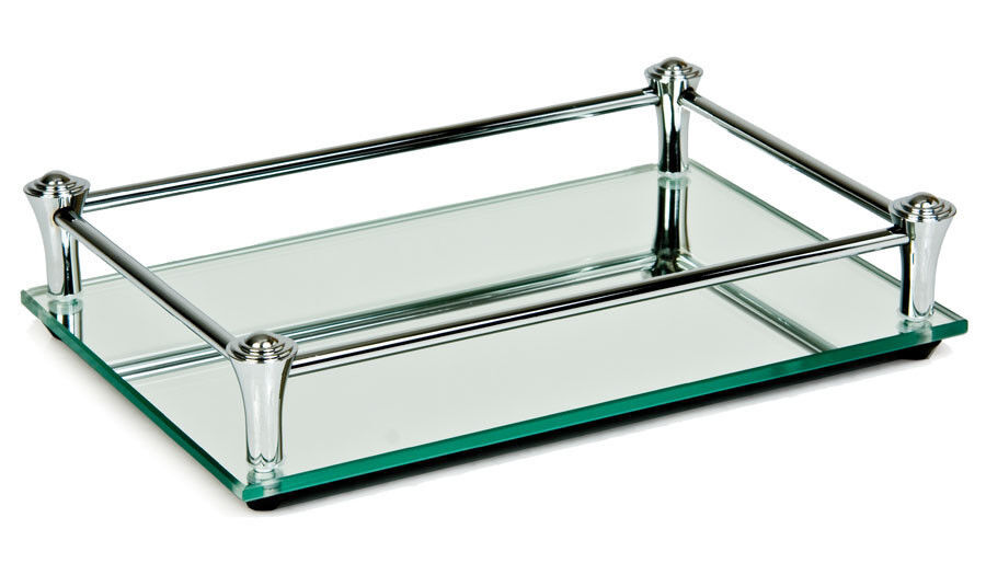 glass dressing table tray ebay