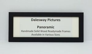 BLACK WOOD PANORAMIC PICTURE PHOTO POSTER FRAME VARIOUS ...
