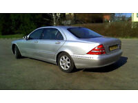 MERCEDES S CLASS 500SEL LIMO BREAKING ALL PARTS V8 5000CC
