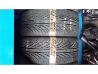 2x 215-40-17 Cooper Zeon Zx5 83W 5mm Part Worn Tyres