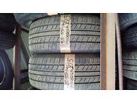 2x 185-55-14 Minerva 80H 6mm Part Worn Tyres