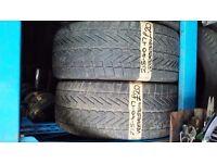 2x 215-40-17 Vredestein WinTrac 87V 4mm Part Worn Tyres