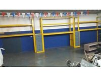 Workshop SHELVING/RACKING With Storage Cabinets Ideal PALLET TYRES FLAT-PACK
