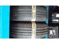 2x 205-55-17 Michelin Primacy Hp 95V 5mm Part Worn Tyres
