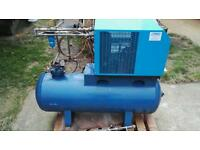 Compressed Air Drier, 500 Ltr 40 cfm, for use with Air Compressor or Screw Compressor