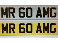 mr60amg number plate
