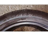 2 Pirelli Scorpion Verde 265/45/20 part worn tyres
