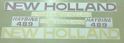 New Holland 489 Haybine Decal