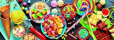 Trefl 1000 Piece Panorama Adult Large Sweet Delights Candy Floor Jigsaw Puzzle