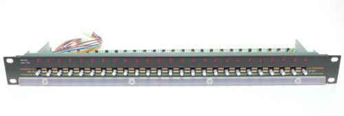 Bogen Switchbank SBA-225 Switchboard Rack Mountable Selector Panel 25 Channel