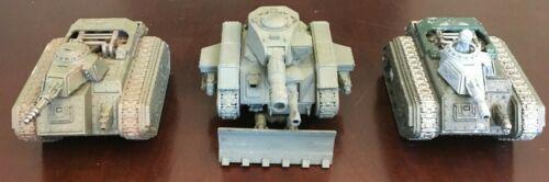 Imperial Guard Astra Militarum Tanks- Leman Russ, Hell Hound, Devil Dog