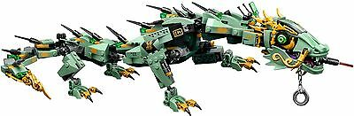 Lego The Ninjago Movie 70612 The Green Ninjas Mech Dragon Only  New  No Minifig