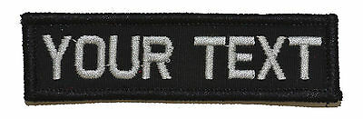 1x3.75 Nametape Custom Name Fits Operator Hats Military Morale Patch