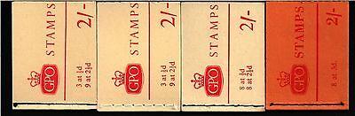 holiday booklets 2/- shilling NR1  NR1a  NR2  NX1
