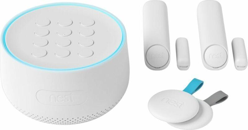 Google - Nest Secure Alarm System Starter Pack - White