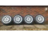 Mk 5 Golf GT sport wheels and tyres