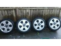 Audi wheels (fit vw and merc too)
