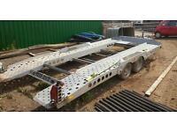 IFOR WILLIAMS CT 177 TILT BED CAR TRANSPORTER TRAILER