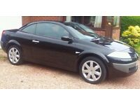 Renault Megane Convertable !! Black !! Goes great