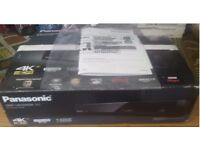 PANASONIC 4K UHD BLU RAY PLAYER WITH BOX + INSTRUCTIONS