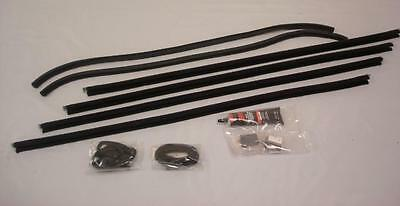 Ford Tudor Sports Coupe Pickup Truck Door Glass Window Channel Run Kit Model A