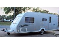 2008/09 STERLING EMERALD ELITE, 4 BERTH SILVER SIDED - LUXURY WITH END BATHROOM & MOTOR MOVER!