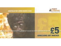 Six £5 off admission tickets for Port Lympne Reserve in Ashford, Kent