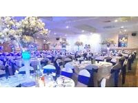 DJ CHAIR COVERS BACKDROP TABLE CLOTHS LETTERS ETC