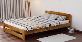 Solid Wood Double Bed Frame £160 OBO