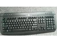 Logitech wireless keyboard good as new etc .bargaim