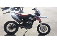 2012 Derbi Senda 125 DRD Super Moto with Free Delivery Nationwide