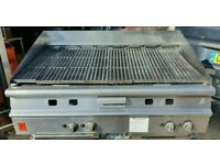Original FALCON CHAR GRILL 4 BURNER PERI PERI GRILL 120 CM NATURAL GAS