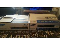 2 Samsung DVD players