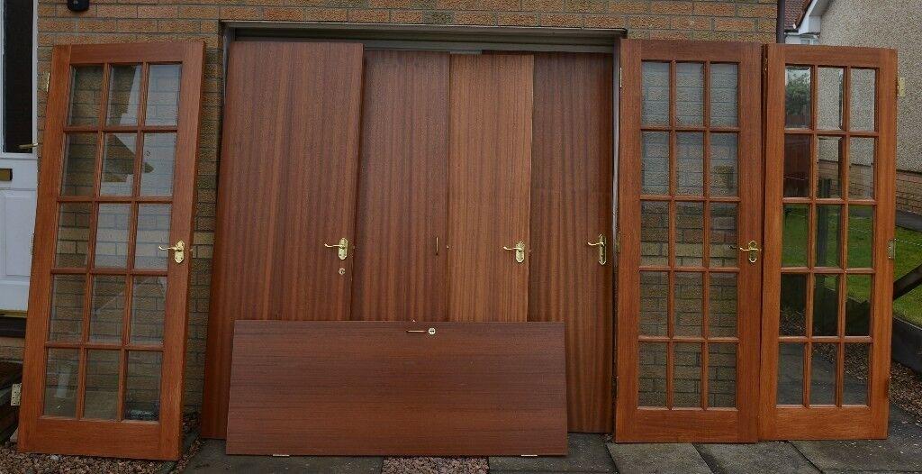 Free To A Good Home Various Indoor Wooden Doors Indoor Glass