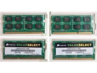 16Gb (4 x 4GB) 1066ghz Corsair memory for laptop or Mac